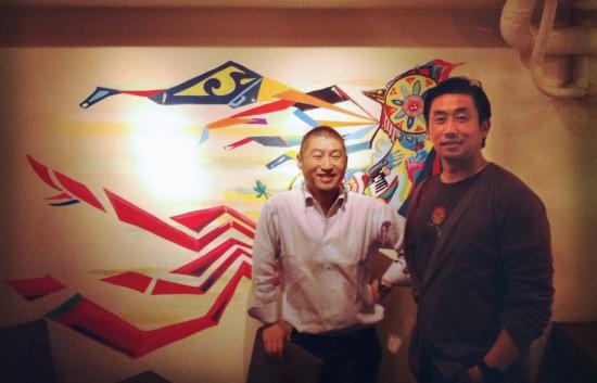 Super5Mural_Tak&Shiro