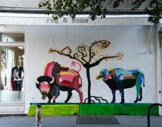 RAG & BONE MURAL, NEW YORK