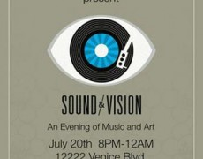 Sound & Vision – Show on Saturday 7/20