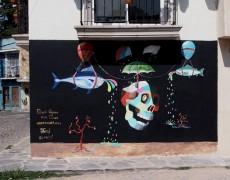 LA CALACA MURAL, MEXICO