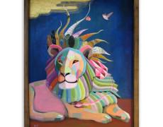 Commission Painting – Lion