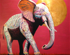 Commission Painting – Elephant