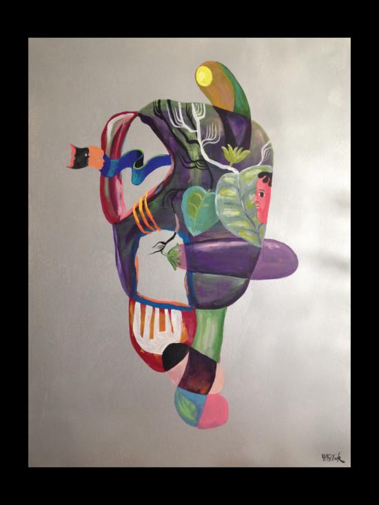 Nasu Seitaku Tak Aoyama Commission Painting