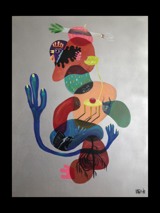 Table Seitaku Tak Aoyama Commission Painting